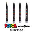 UNI POSCA ECSETFILC PCF-350 FEKETE