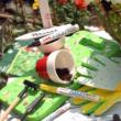 UNI PX-20 BARNA LAKKFILC