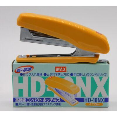 MAX HD10NX Tűzőgép SÁRGA