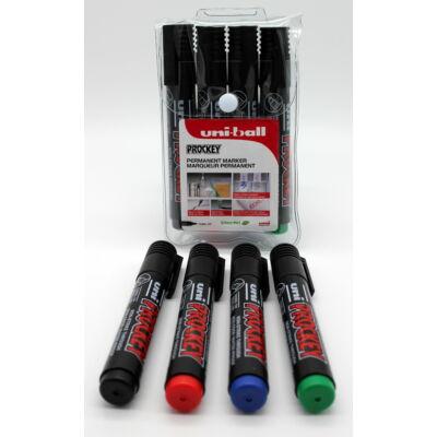 UNI PM-126 4db-os készlet (fekete, kék, piros, zöld)