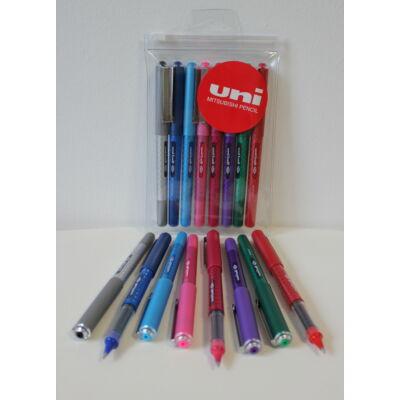 UNI UB-157D 8db-os készlet (fekete,kék,világoskék,rózsaszín,bordó,lila,zöld,piros)