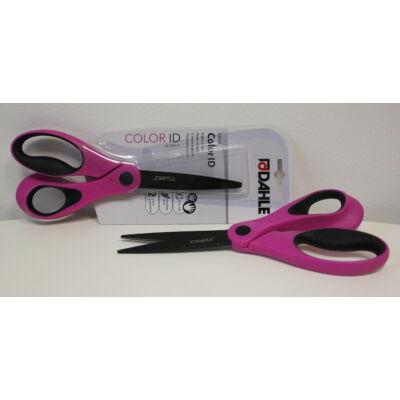 DAHLE 54508 rózsaszín papírvágó olló 21cm