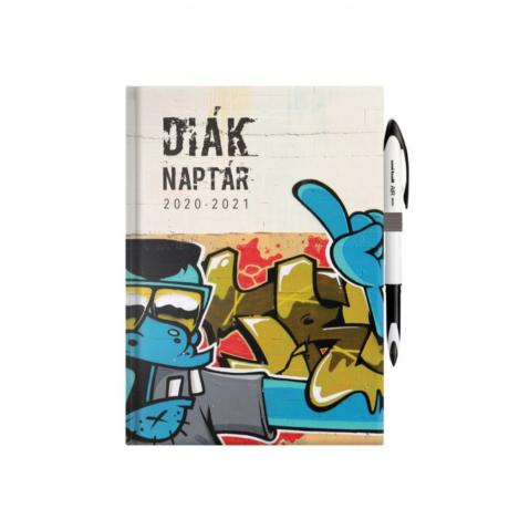 """Diáknaptár """"Street art"""""""
