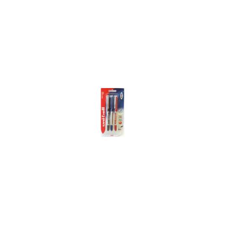 UNI UB-150 3db-os készlet (kék, fekete, piros)